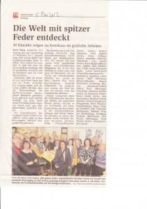 Soester Stadanzeiger 5.2013